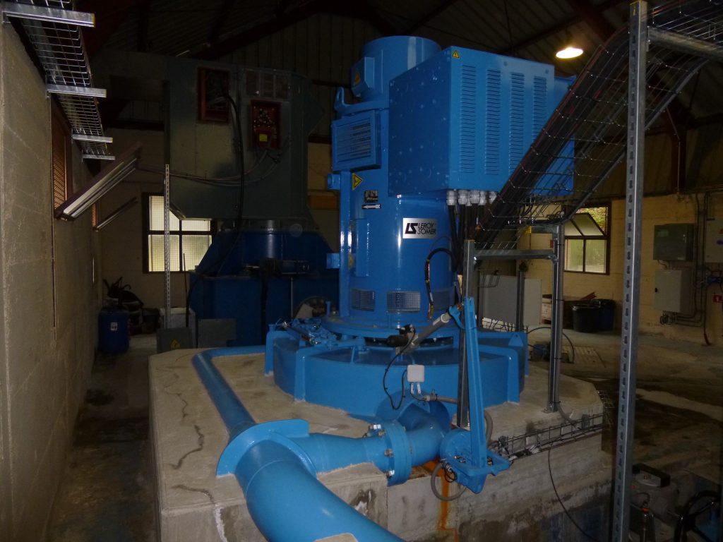 Le Lauzet - Turbine Pelton 2 injecteurs