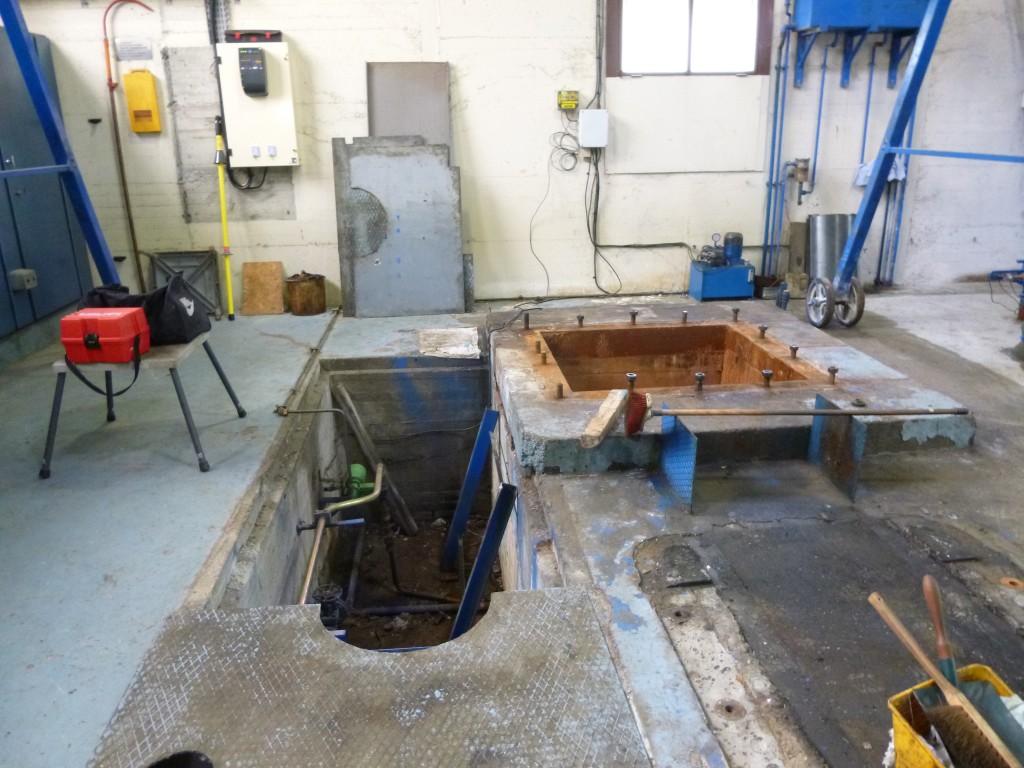 Préparation GC pour retrofit groupe Pelton